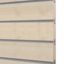 SL12ME maple finish slatwall 1200mm x1200mm x18mm